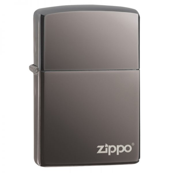 Zippo Classic Black Ice® Zippo Logo