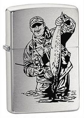 Zippo Windproof Petrol Lighter 200 FISH3