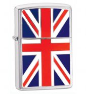 Zippo Windproof Petrol Lighter Union Jack 200UJ