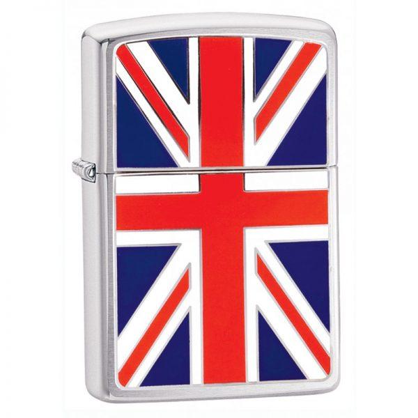 Zippo Windproof Petrol Lighter Union Jack 200UJ