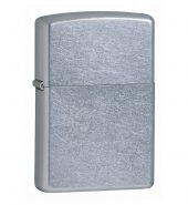 Zippo Classic Street Chrome Windproof Petrol Lighter 207