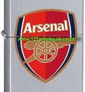 Zippo Classic High Polish Arsenal FC Windproof Petrol Lighter 250AFC