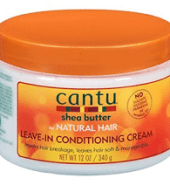 Cantu Shea Butter Nat Leave In Conditioning Cream 12oz
