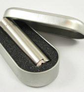 Clipper Metal Gift Brushed Chrome Flint Lighter (Gift Box)