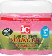 IC Aloe Hair Polisher Styling Gel with Sparkle 16oz