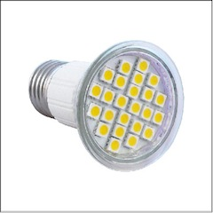 JDR E27 SMD Cool White 24LED 5W=40W