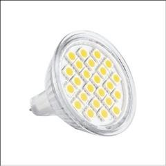 LED MR16 SMD Warm White 24LED 5W=40W