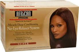 African Pride Olive Miracle Deep No Lye Relaxer Super