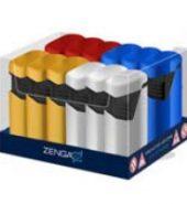 Zenga Twin Windproof Jet Lighter
