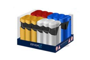 Zenga Twin Windproof Jet Lighter
