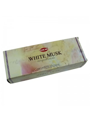 HEM Incense Sticks 6 x 20's - White Musk