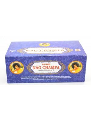 Pure Nag Champa Masala Agarbatti- Incense Sticks 12x15g