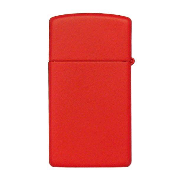 Genuine New Zippo® Slim® Red Matte 1633ZL