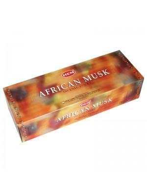 HEM Incense Sticks 6 x 20's - African Musk