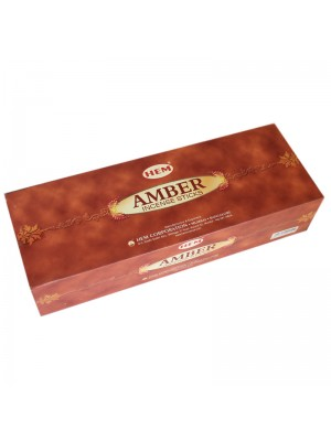 HEM Incense Sticks 6 x 20's - Amber