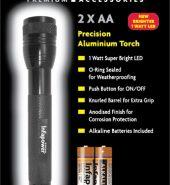 Infapower Aluminium Torch LED 2xAA