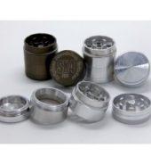 SX4 Magnetic Herb Grinder 30mm 4 part