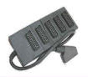 1 Scart Plug to 5 Scart Plugs 1.5M