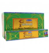 Satya Natural Incense Sticks – Patchouli 12 packs of 15's