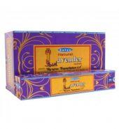Satya Natural Incense Sticks Lavender 12 packs of 15g