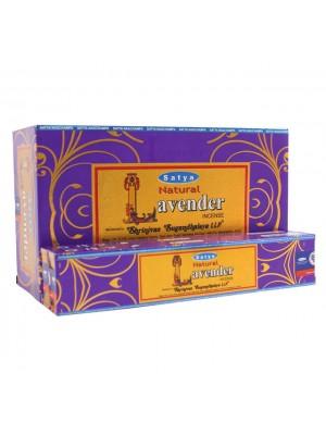 Satya Natural Incense Sticks - Lavender