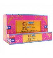 Satya Natural Rose Incense Stickse 12 packs of 15's