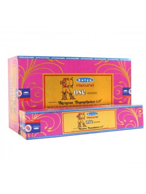 Satya Natural Incense Sticks - Rose