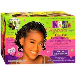 Africa Best Kids Organics Relaxer Conditioner System