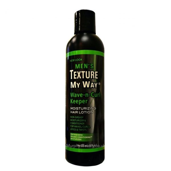 Africa Best Texture My Way Men's Wave Keeper Lotion 8oz