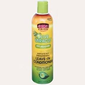 African Pride AP Olive Miracle Anti Break 2in1 Shampoo & Conditioner 12oz