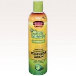 African Pride Olive Miracle Moisturizing Lotion12oz
