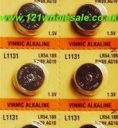 10 x Vinnic AG5 Alkaline Battery