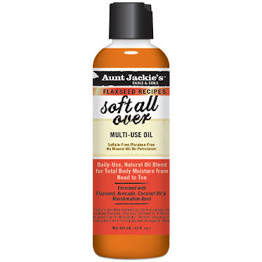 Aunt Jackie AJ Soft All Over Multi Purpose Oil 8oz