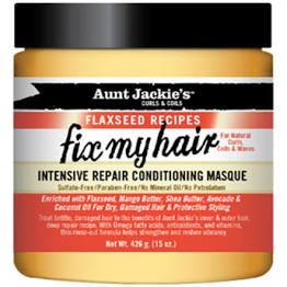 Aunt Jackie Fix My Hair Intensive Repair Conditioning Masque