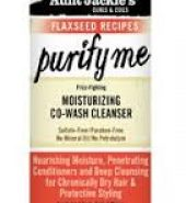 Aunt Jackie's Flaxseed Purify Me Moisturizing Co-Wash Cleanser 12oz