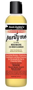 Aunt Jackie Flaxseed Purify Me Moisturizing Co-Wash Cleanser 12oz