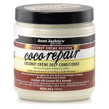 Aunt Jackie Coconut Crm Coco Repair Deep Conditioner 15oz