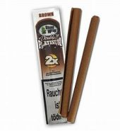 Blunt Wrap Double Platinum Brown – 2 Blunts per Pack