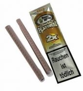 Blunt Wrap Double Platinum Coral – 2 Blunts per Pack
