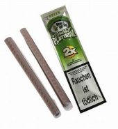 Blunt Wrap Double Platinum Green – 2 Blunts per Pack