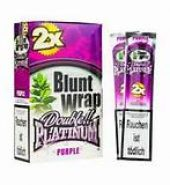 Blunt Wrap Double Platinum Indigo – 2 Blunts per Pack