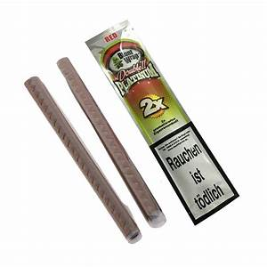 Blunt Wrap Double Platinum Red - 2 Blunts per Pack