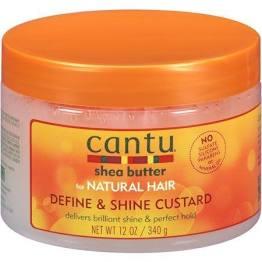 Cantu Shea Butter Nat Hair Define & Shine Custard 12oz