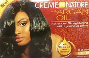 Creme of Nature Argan Oil No-Lye Relaxer Regular