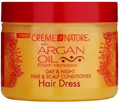 Creme of Nature Argan Oil Day & Night Hair & Scalp Conditioner 4.8oz
