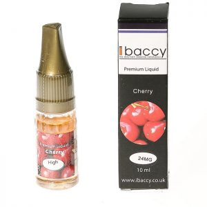 iBACCY E Liquid Cherry Flavour 10ml