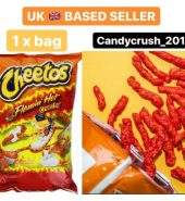 CHEETOS® Crunchy XXTRA FLAMIN' HOT® Cheese Flavored Snacks 227g