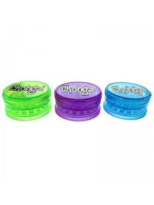 Chongz 3-Part Grinder - Assorted Colours