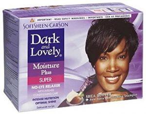 Dark and Lovely Moisture Plus Relaxer Super Kit
