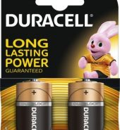 2 x Duracell Batteries Size C – 2 pack